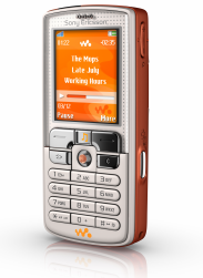 ウォークマン携帯