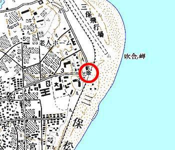 静岡県静岡市付近の地形図