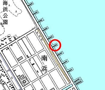 千葉県神栖町付近の地形図