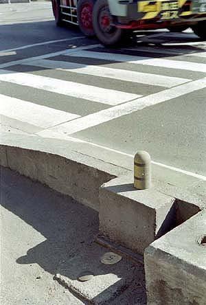 道路基準点の画像