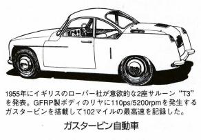 ガスタービン自動車
