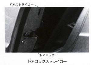 ドアロックストライカー