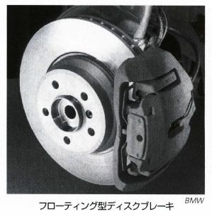 フローティング型ディスクブレーキ