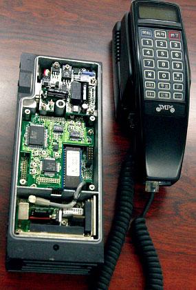 自動車電話端末