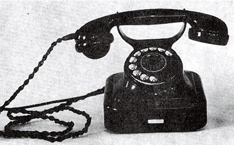 富士形3号電話機