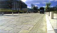 天然石ブロック舗装