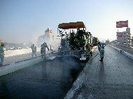 道路橋床版防水工法