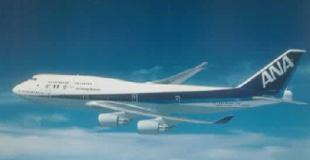 ボーイング式747-400型