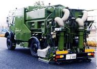 排水性舗装機能回復車