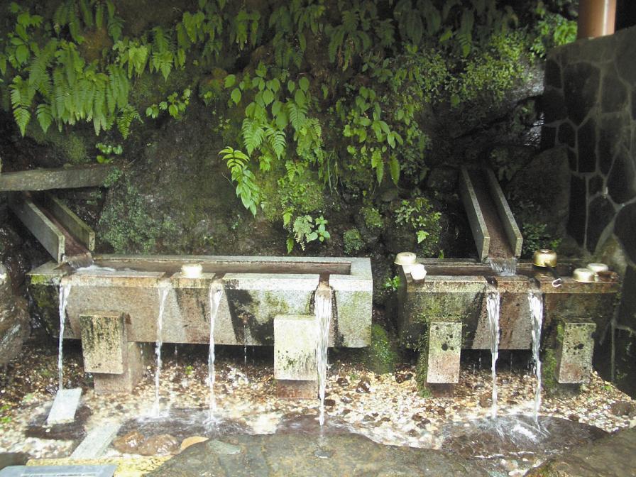 不動滝の霊水