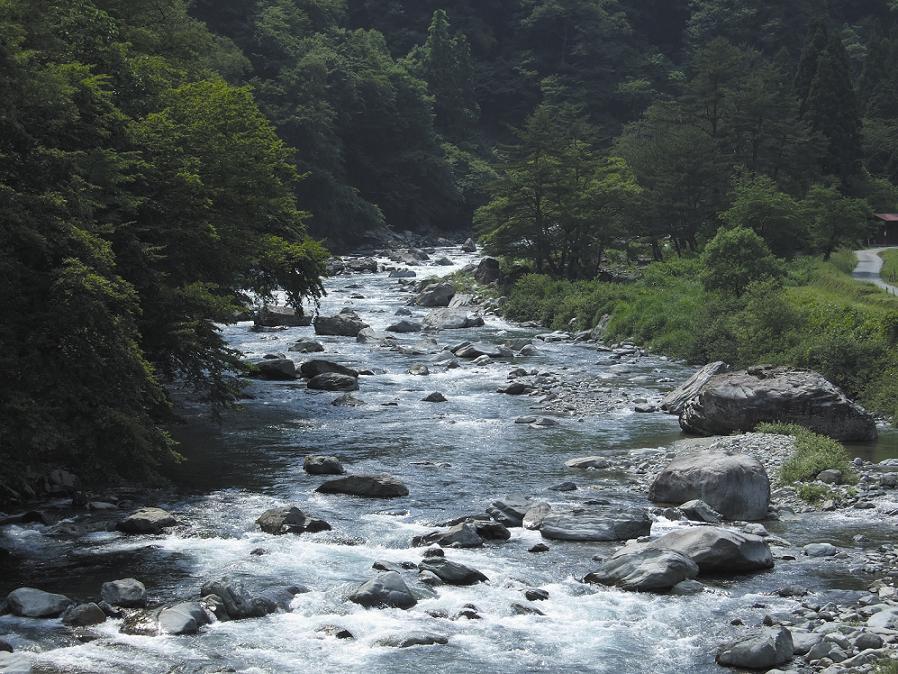 馬瀬川上流