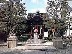 大将軍八神社拝殿