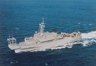 海洋観測艦「にちなん」型
