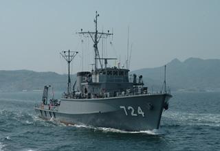 掃海管制艇「にいじま」型