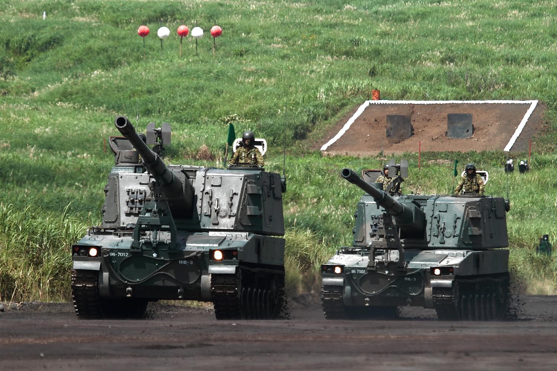 99式自走榴弾砲