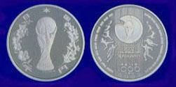 2002FIFAワールドカップ™記念1,000円銀貨幣