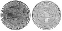 地方自治法施行60周年記念 岩手県分 5百円バイカラー・クラッド貨幣