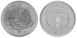 地方自治法施行60周年記念 秋田県分 5百円バイカラー・クラッド貨幣