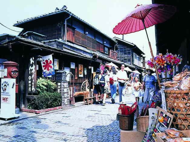 川越の菓子屋横丁