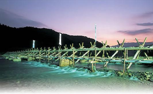 五ヶ瀬川の鮎焼き