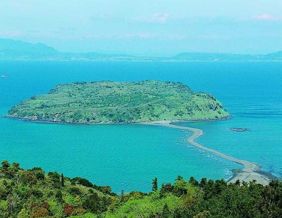 指宿知林ヶ島の潮風
