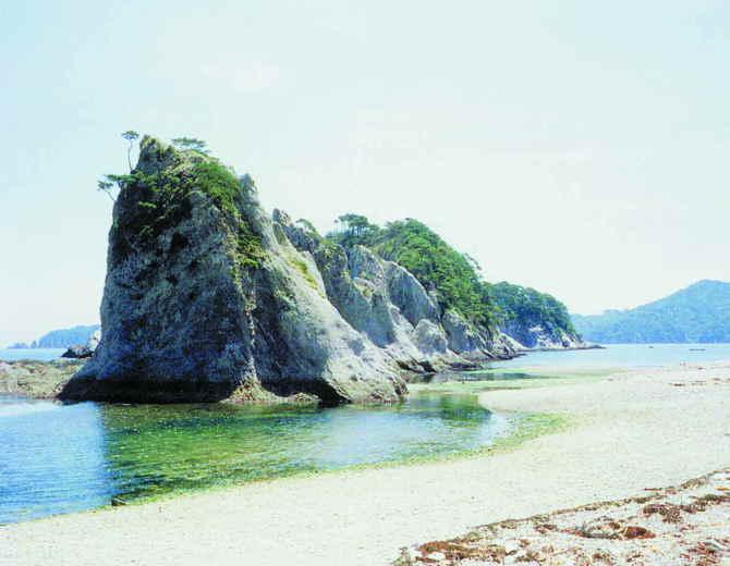 浄土ヶ浜の潮のかおり