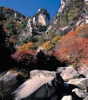 写真:秋の昇仙峡
