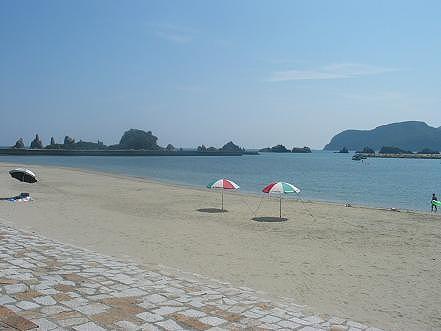 橋杭海水浴場