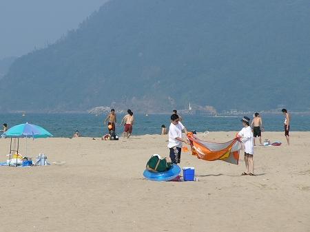 砂丘海水浴場