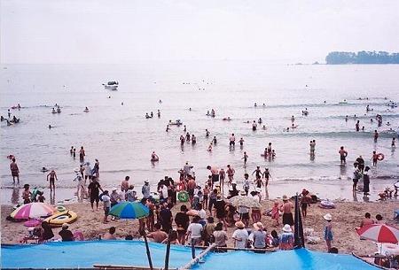お伊勢浜海水浴場