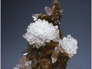 水晶と方解石