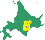 十勝川流域図