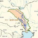 中川・綾瀬川流域図