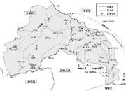 相模川流域図