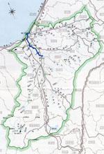 関川流域図