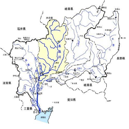 長良川流域図