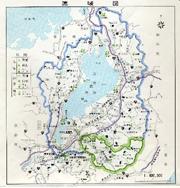 野洲川流域図