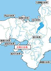 大和川流域図