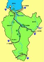 松浦川流域図