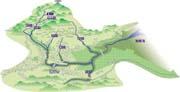 本明川流域図