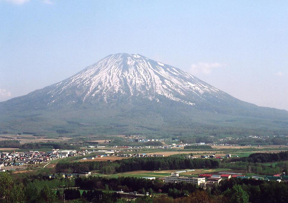 羊蹄山の写真