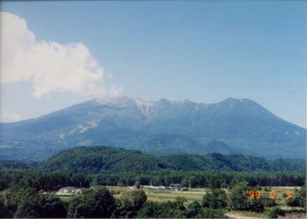 御嶽山写真