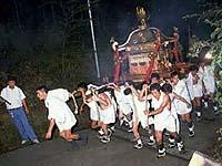 宇佐八幡神社の夜祭り