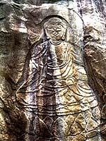 富川の磨崖仏
