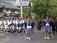 萱野神社の春祭り