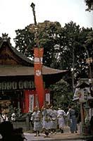 若松神社の春祭り