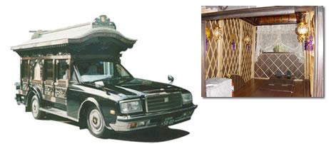 名古屋型宮型霊柩車