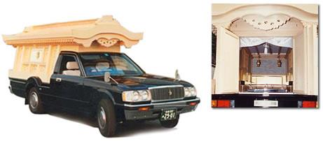 関西型宮型霊柩車
