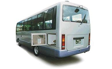 バス型霊柩自動車