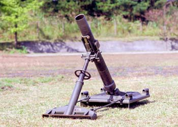 107mm迫撃砲